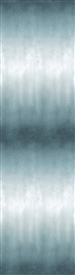Ombre digital print fabric in greenish-blue tones
