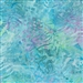 Lionfish pattern fabric in blue, lime green, and purple.