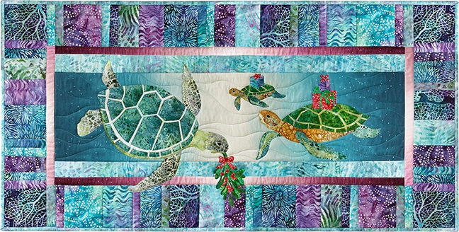 Gifts from the sea applique pattern & full quilt instructions