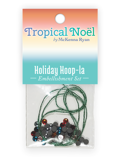 Holiday Hoop-la Embellishment Kit
