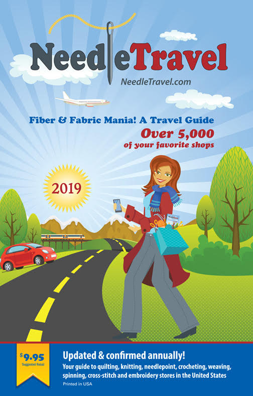 NeedleTravel - Fiber & Fabric Mania - A Travel Guide (2019)