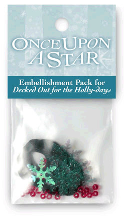 Decked Out for the Holly-days Embellishment Kit