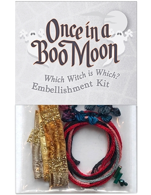 Embellishment kit for block two in Once in a Boo Moon