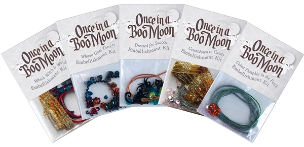 Full set of embellishments for Once in a Boo Moon.