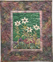 McKenna's Wood Lily Applique Pattern