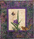 Spiderwort Applique Pattern