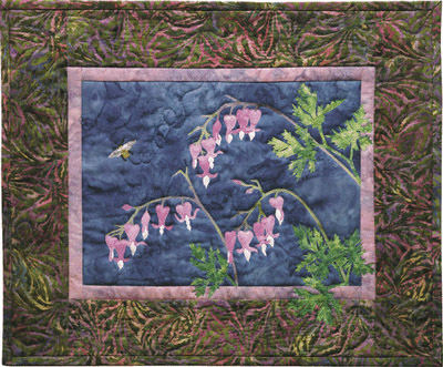 Wild Bleeding Heart Applique Pattern