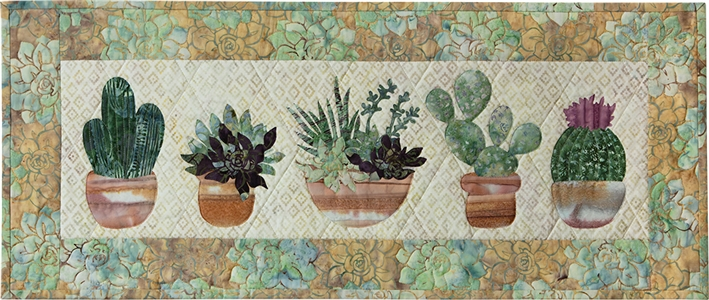 Prickly Pots Applique Pattern Instructions