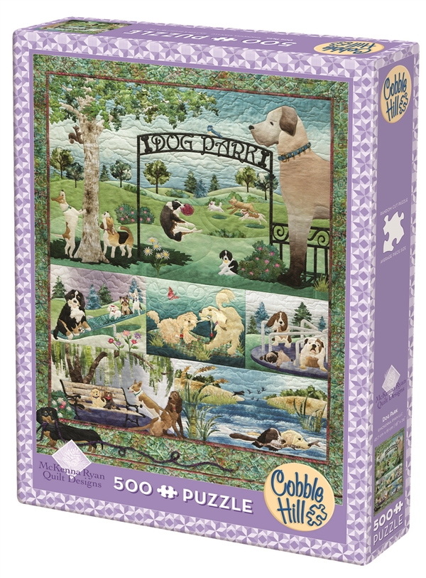 Dog Park Puzzle 500 Pieces