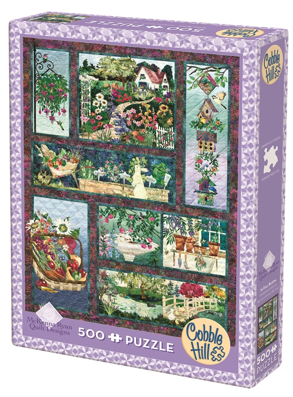 In Full Bloom Puzzle 500 Pieces - JUST A FEW LEFT!