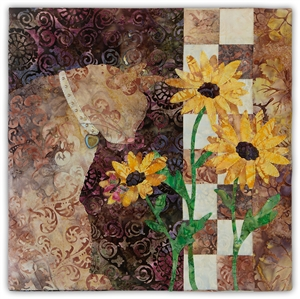 Margherita - Finished Quilt Block - SOLD!