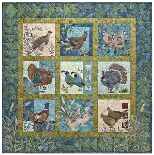 Fields End - Finished Multi-Block Quilt
