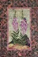Fireweed - Finished Quilt Block - SOLD!
