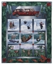 Road Trip by McKenna Ryan Applique Art Quilt. Enjoy Glacier National Park through every season. Featuring Enchanted Pines by McKenna Ryan for Robert Kaufman Fabrics.