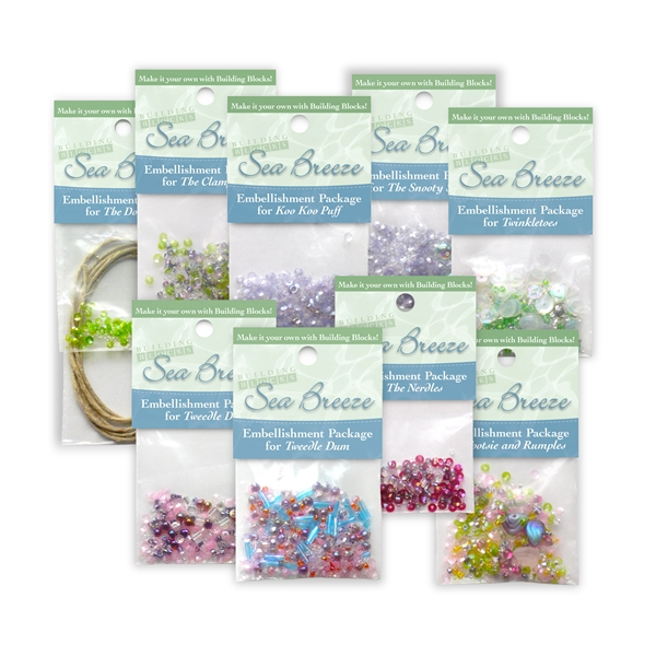Sea Breeze Complete Embellishments Set