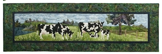 Holstein Ahead Applique Pattern