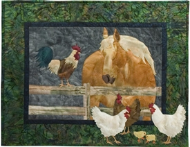 Neigh-bors Applique Pattern & Complete Quilt Instructions