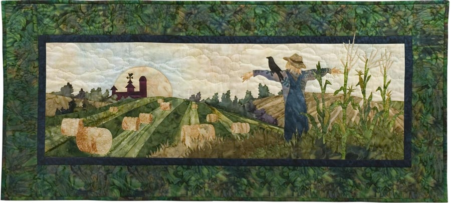 Outstanding in His Field Applique Pattern