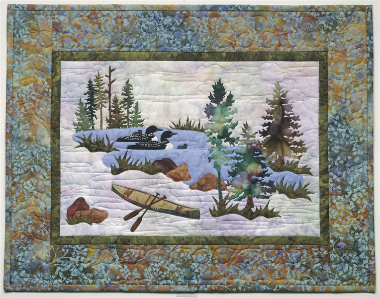 Echo Lake Applique Pattern