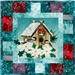 Nestled in for the Holidays Applique Pattern