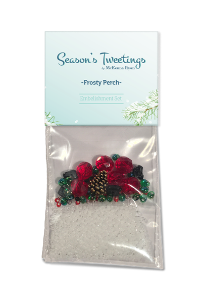 Frosty Perch Embellishment Kit
