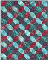 Twilight Crossing Pieced Quilt Pattern