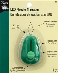 Needle Threader with LED Light
