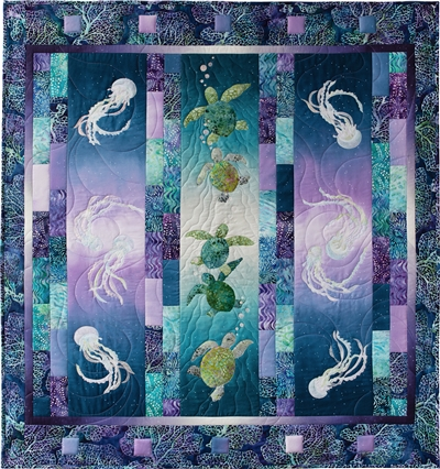 High Tide Full Quilt Pattern