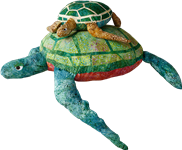 Dudley Doolittle Turtles with Starfish Pattern Instructions