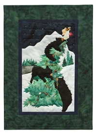 Jingle Bear Rock Applique Pattern