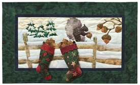 Nuttin' for Christmas Applique Pattern