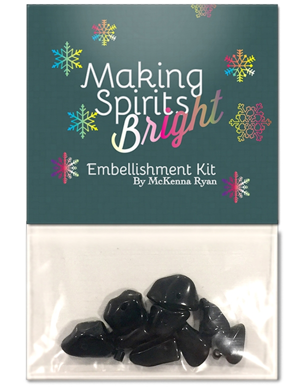 Making Spirits Bright Embellishment Kit for Hoffman Kits-by-the-Dozen