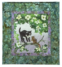 The Local Branch Applique Pattern & Complete Quilt Instructions