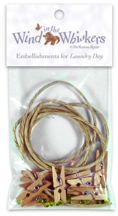 Laundry Day Embellishment Kit