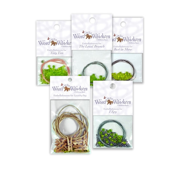 Wind in the Whiskers Complete Embellishments Set
