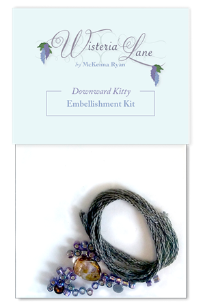 Downward Kitty Embellishment Kit