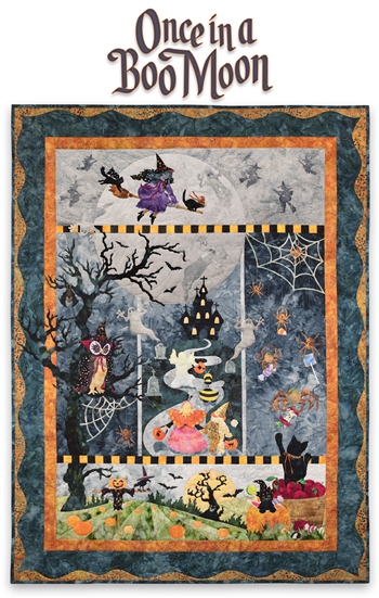 Holiday Applique Quilt Patterns | Christmas & Halloween Quilts