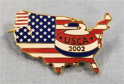2002 USCA Nation Pin