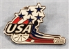 2010 USA Wheelchair Curling Pin