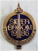 1986 Silver Broom Pin