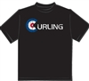 House Curling Distressed T-shirt