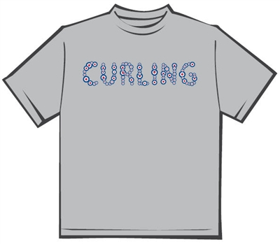 Ladies Curling T-shirt