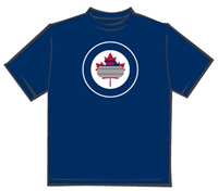 Curling Stone Leaf T-Shirt