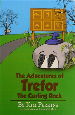 """Trefor the Curling Rock"" children's book"