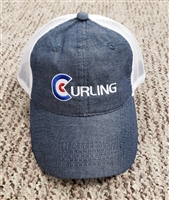 Curling Baseball Hat