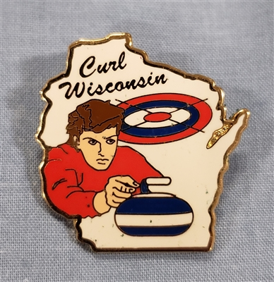 Curl Wisconsin Pin Man