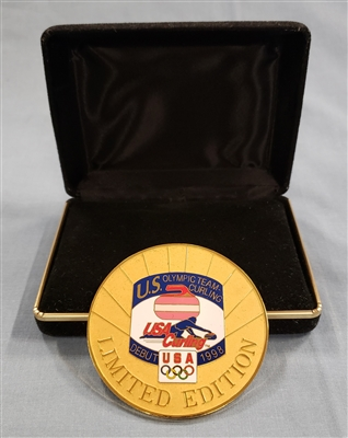 1998 Olympic Debut Medallion