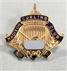 Madison Curling Club Pin