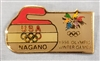 1998 Nagano Olympic Curling Pin