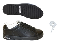 "Olson Ole Men's Curling Shoe 5/32"" Slider"